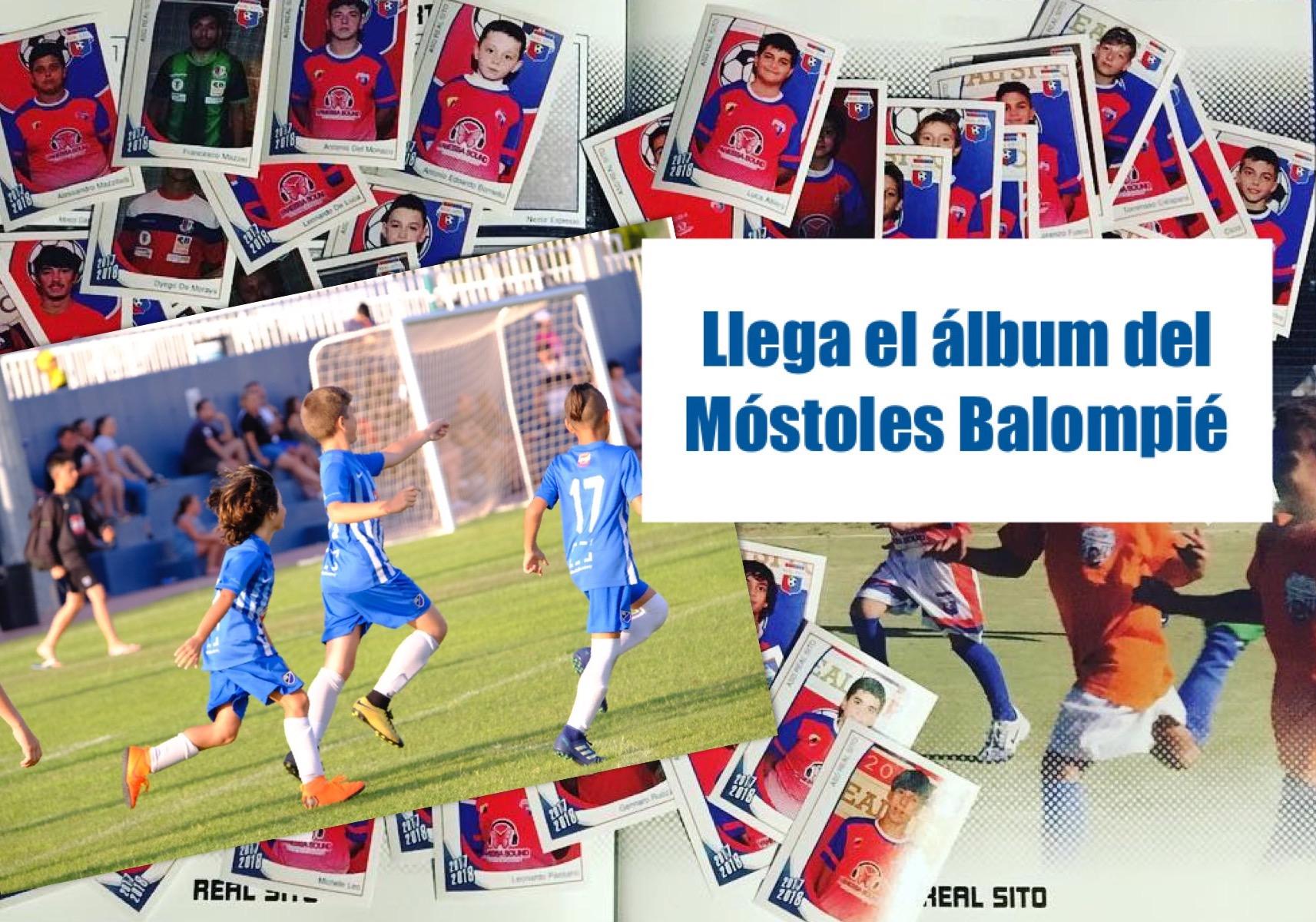 El Móstoles Balompié tendrá su propio álbum de cromos