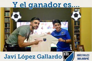 Javier López ganó el concurso con más de 10.000 likes
