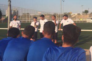 Arrancan los tres primeros equipos del Móstoles Balompié