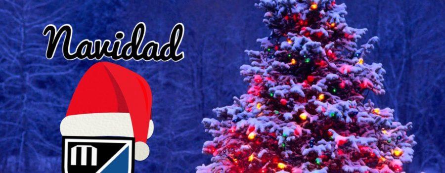 El Móstoles Balompié os desea Feliz Navidad