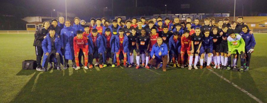 Nuestro cadete cayó 2-0 contra el Cadete B del Guangzhou Evergrande