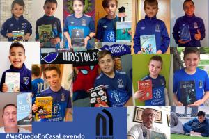 Gran éxito de #MeQuedoEnCasaLeyendo