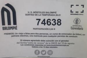 Bases del sorteo de la UD Móstoles Balompié